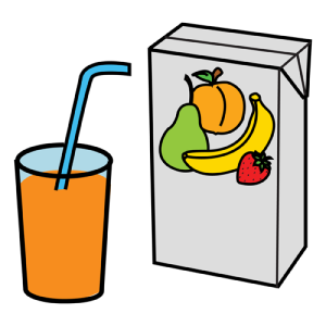 bebida en caja